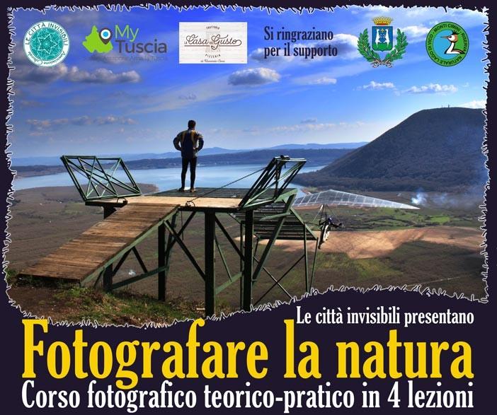 In partenza il corso di fotografia naturalistica a Caprarola