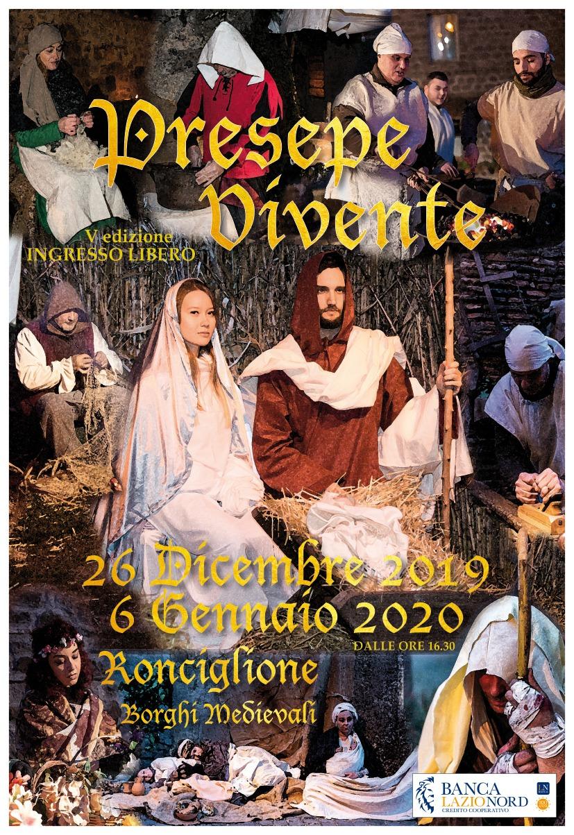 A Ronciglione un viaggio nel Medioevo grazie al Presepe Vivente 2019/2020