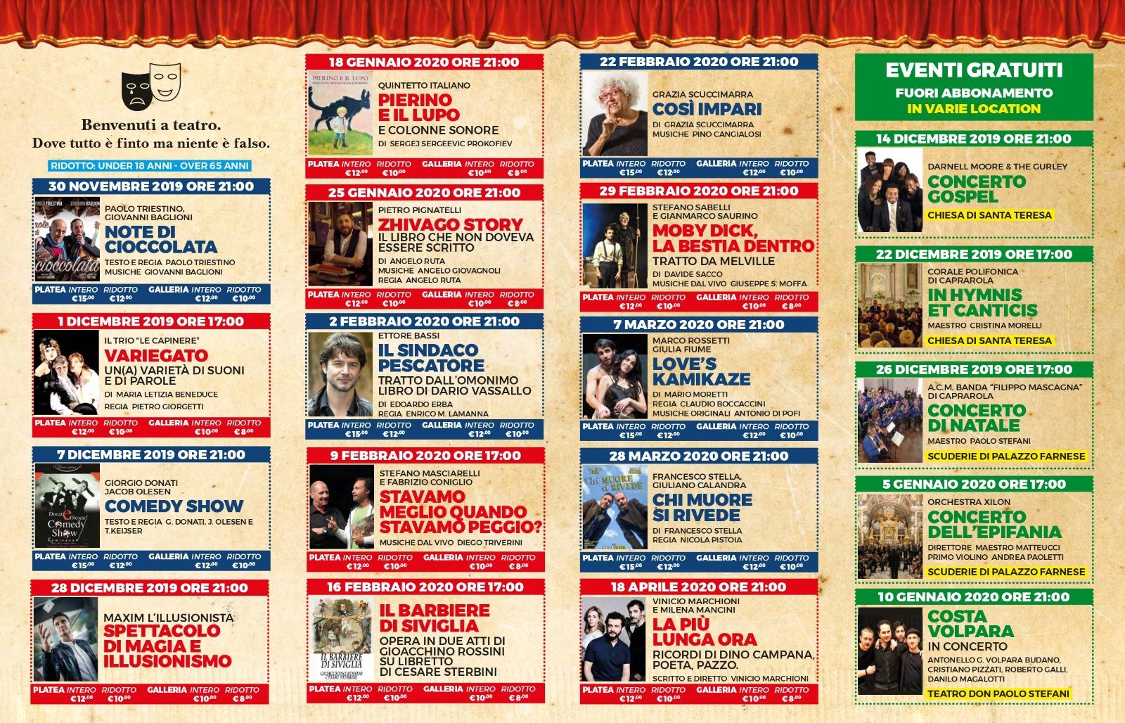 "Teatro Comunale ""Don Paolo Stefani"" a Caprarola"